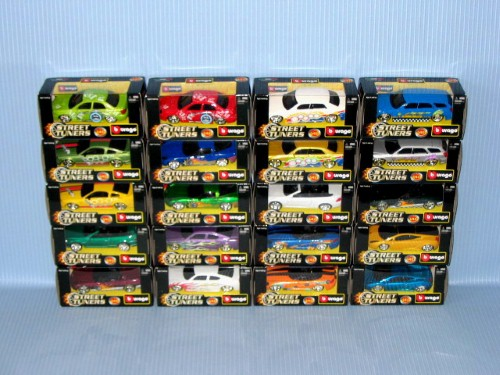 (31040) 1:43 STREET TUNERS (20A)